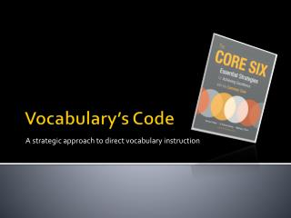 Vocabulary's Code