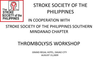 STROKE SOCIETY OF THE PHILIPPINES