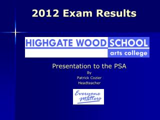 2012 Exam Results