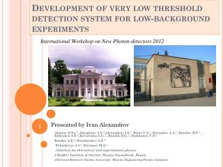 Development of very low threshold detection system for low-background experiments
