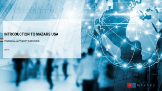 Introduction to Mazars USA
