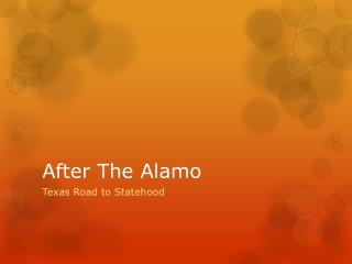 After The Alamo