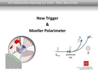 A2 Collaboration Meeting Oct 2010 – Peter-Bernd  Otte