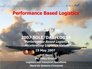 Performance Based Logistics