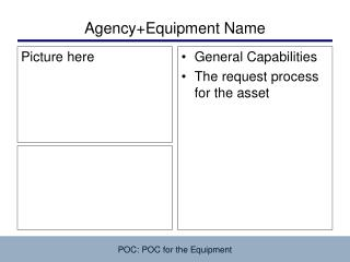 Agency+Equipment Name