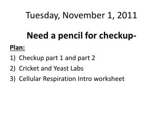 Tuesday, November 1, 2011
