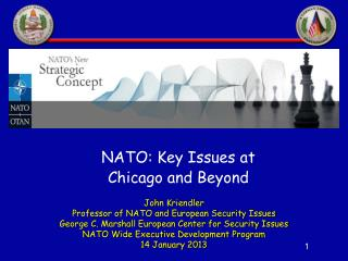 John Kriendler Professor of NATO and European Security Issues