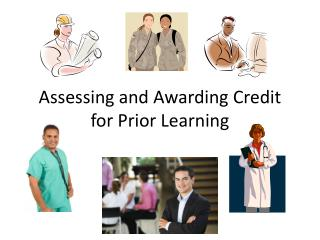 Assessing and Awarding Credit for Prior Learning