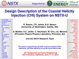 Design Description of the Coaxial Helicity Injection (CHI) System on NSTX-U