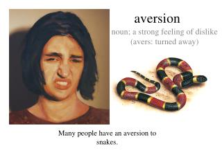 aversion