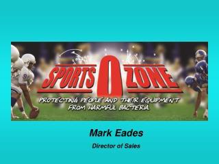 Mark Eades Director of Sales