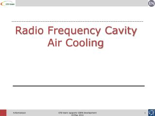 Radio Frequency Cavity Air Cooling