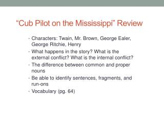 """Cub Pilot on the Mississippi"" Review"