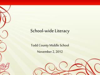 School-wide Literacy