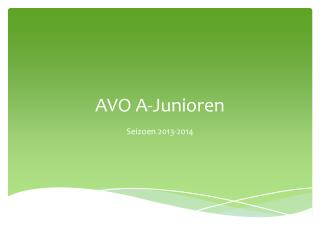 AVO A-Junioren
