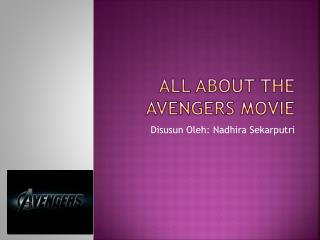 All about the avengers movie