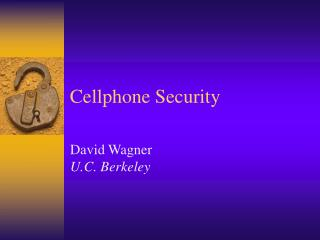 Cellphone Security