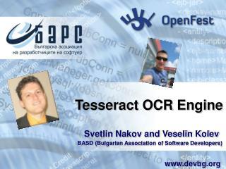 Tesseract OCR Engine