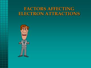 FACTORS AFFECTING ELECTRON ATTRACTIONS