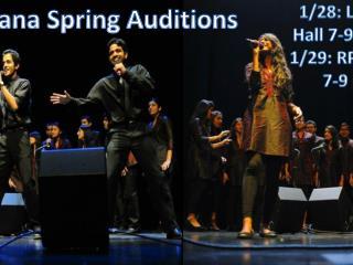 Tarana Spring Auditions