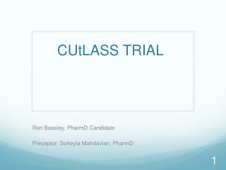 CUtLASS  TRIAL