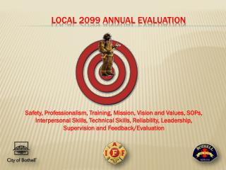 LOCAL 2099 ANNUAL EVALUATION