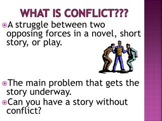 What is Conflict???