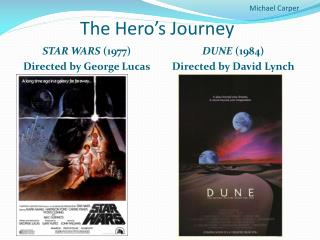 Michael Carper The Hero's Journey