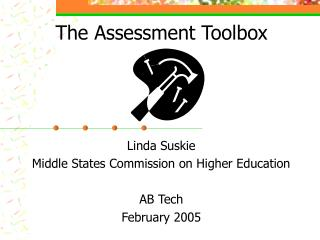 The Assessment Toolbox