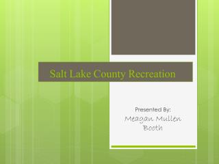 Salt Lake County Recreation