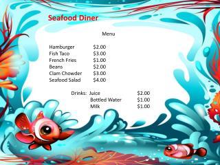 Seafood Diner