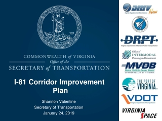 I-81 Corridor Improvement Plan