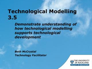 Technological Modelling 3.5