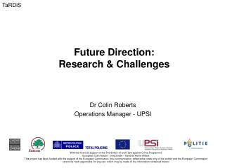Future Direction:  Research & Challenges
