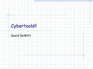 Cybertools!!