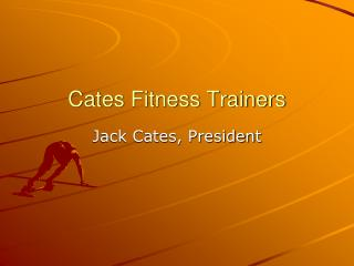 Cates Fitness Trainers