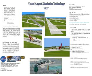 Virtual Airport Simulation Technology
