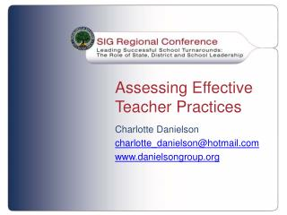 Assessing Effective Teacher Practices