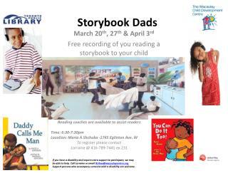Storybook Dads