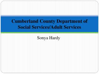 Cumberland County Department of Social  Services/Adult  Services