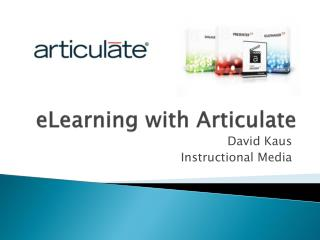 eLearning with Articulate