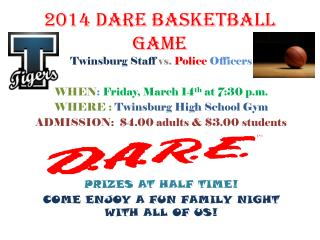 2014 DARE basketball game