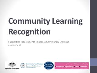 Community Learning Recognition