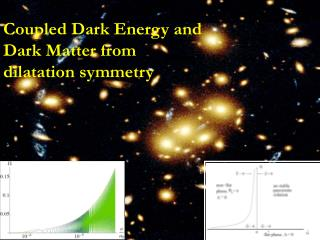 Coupled Dark Energy and  Dark Matter from dilatation symmetry