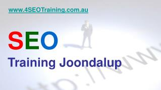 Perth SEO - SEO Training Courses Joondalup Perth