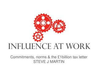 Commitments, norms & the £1billion tax letter STEVE J MARTIN