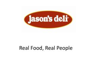 Real Food, Real People