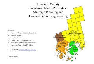 Hancock County Substance Abuse Prevention Strategic Planning and  Environmental Programming