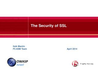 The  Security  of  SSL
