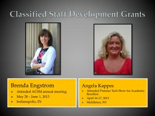 Classified Staff Development Grants